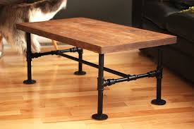 diy iron pipe table by nothing z3n black iron pipe table
