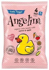 <b>Кукурузные снэки Little</b> Angel Angelina Морковь ... — купить по ...