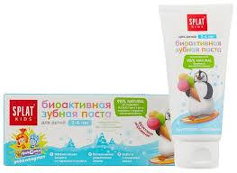 <b>Зубная паста SPLAT Kids</b> Фруктовое мороженное 2-6 лет ...