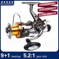 PROFESSIONAL <b>Fishing Reel</b> Full <b>Metal</b> Body <b>Spinning</b> Fishing ...