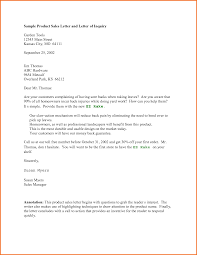 sample of inquiry letter for product apology letter  doc