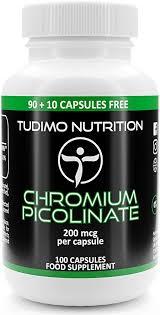 Chromium 200 mcg Capsules - <b>100 pcs</b> (<b>3</b>+ Month Supply) of ...