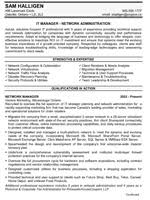 resume confidential » case studies and samplesit manager résumé