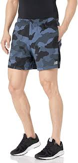 New Balance Men's <b>Printed Accelerate</b> 5in <b>Short Short</b>: Amazon.co ...