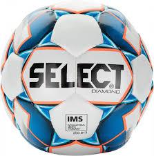 <b>Мяч футбольный Select Diamond</b> IMS белый/голубой/оранжевый ...