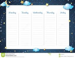 coursework timetable coursework timetable template