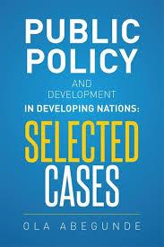 ola abegunde public policy and