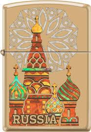 <b>Зажигалки Zippo Z_254B</b>-Kremlin, Горячее Россия