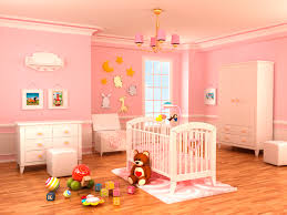 pink baby nursery design idea pink girly baby nursery theme pink hanging ceiling lights white oak baby bedroom ceiling lights