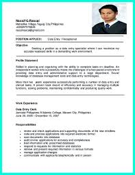 perfect data entry resume samples to get hired    data entry resume examples and data entry resume