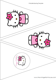 the vintage farmhouse hello kitty party printables  the vintage farmhouse hello kitty party printables