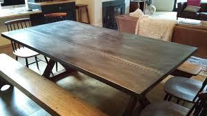 images zinc table top: zinc dining tables by zinc fx melbourne australia