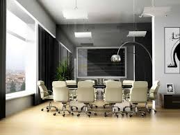 charming home office meeting room interior design ideas with luxury beige fabric swivel chairs combined brushed captivating office interior decoration