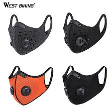 <b>Bike face mask</b>, <b>Cycling</b> mask, <b>Activated</b> carbon filter