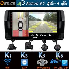 1Din 360° Camera 4G LTE WiFi Android 9.0 4G+64G SPDIF DSP ...