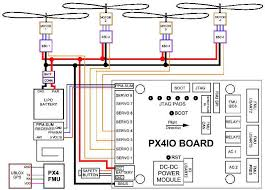 archived px4 wiring quickstart copter documentation px4fmu plus px4io wiring diagrams¶