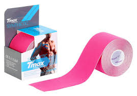 Спортивный <b>тейп Tmax Synthetic</b> Pink