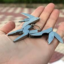 <b>Pocket</b> Multitools Plier <b>1pc</b> Outdoor Mini Portable <b>Folding</b> Muilti ...