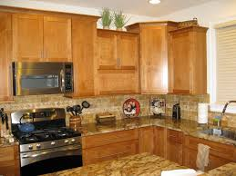 Honey Maple Kitchen Cabinets American Tile Stone Cabinets