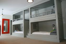 unusual grey custom wooden bunk beds with built in beds design and ceiling lights in small bedroom furniture built in