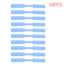 10PCS Third Gear <b>Adjustable Anti Slip Mask Ear</b> Grips Extension ...