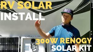 Renogy <b>300w Solar Kit</b> Install | How to RV Full Time Tips - YouTube