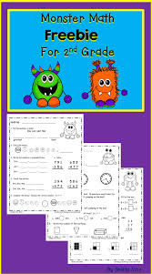 printed monster math bie for second grade reviews 2nd grade monster math bie for second grade reviews grade math skills great for morning work or homework for more information about the best mobile app go to