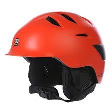 Купить шлем для сноуборда Bern Rollins Satin Liner Orange/Black ...