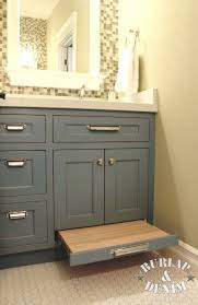 bathroom vanity cabinet pull bathroom vanity storage and pull out drawer stool this saves space and