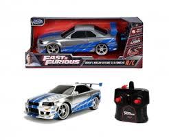 Fast&Furious RC <b>Nissan Skyline</b> GTR 1:16 253206007 - Remote ...
