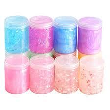 <b>New Slime Containers</b> Sticker Storage Box Sticker <b>Slime</b> Supplies ...