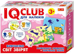 Изучаем Мир Зверей <b>IQ</b>-club для Детей, Учебные <b>Пазлы</b>, <b>Ranok</b> ...