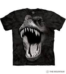 Big Face Glow Rex - The Mountain Adult Unisex T-Shirt