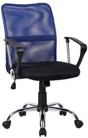 Кресло компьютерное <b>Кресло офисное TopChairs Junior</b> Blue по ...