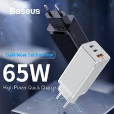 <b>Зарядное устройство Baseus</b> BS-E915 (GaN 65 Ватт)