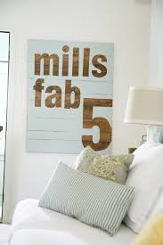 fab 5 sign : <b>DIY</b> - The <b>Handmade</b> Home