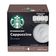 Starbucks® <b>Cappuccino</b> by NESCAFÉ® DOLCE GUSTO® 6 <b>Coffee</b> ...