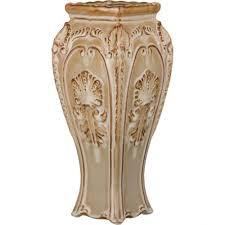 Ваза <b>декоративная Lefard</b>, Кофейная глазурь, 35 см | www.gt-a.ru