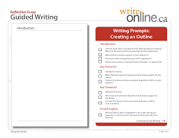 write online guided writing tool reflective essay writing prompts space p2