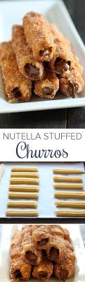 top ideas about crazy things cool things dream nutella stuffed churros