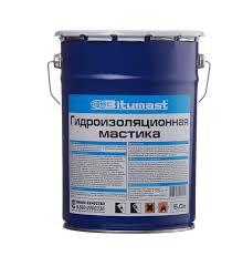 <b>Мастика гидроизоляционная Bitumast</b> 4,2 кг/<b>5 л</b> — купить в ...