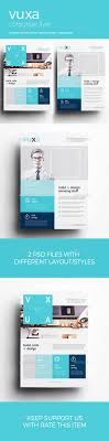vuxa corporate flyer marketing style and design corporate flyer templates ideal for any company corporate bussines also perfect for magazine