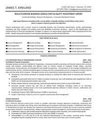 business consultant amp wealth management advisor resume career advisor resume