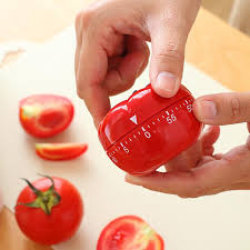 1pc New 1-60min 360 Degree Tomato <b>Timer Creative Kitchen</b> ...