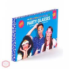 Купить <b>Бумажные очки для вечеринок</b> Crazy glasses Doiy в ...