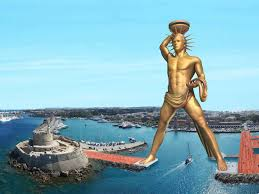 postmodernism tag archdaily plans for a new ultra postmodern colossus of rhodes are brewing proposed