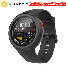 English/Spanish/Russian Huami <b>Amazfit Verge</b> Watch Smart Sport ...