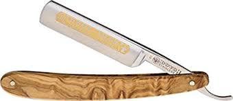 DOVO <b>Inox</b> Straight Razor with Olive Wood Handle <b>5/8</b>