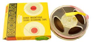 bande magnétique audio