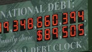 Image result for national debt clock